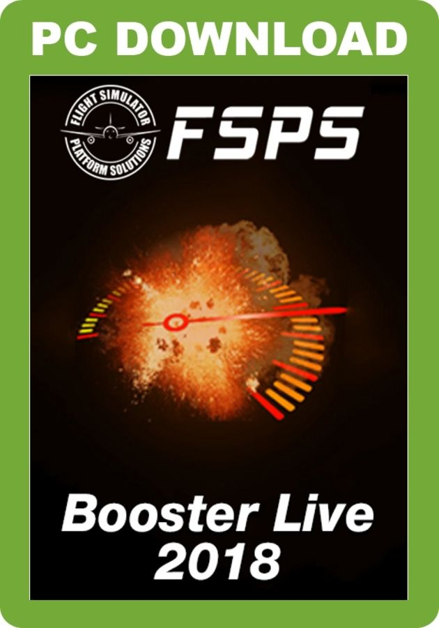 Just Flight - P3D Booster Live 2018 (for P3D v4)