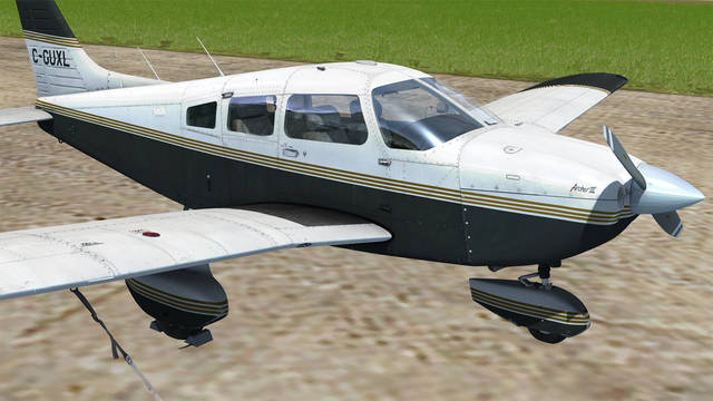 Just Flight PA 28 181 Archer III For P3D FSX