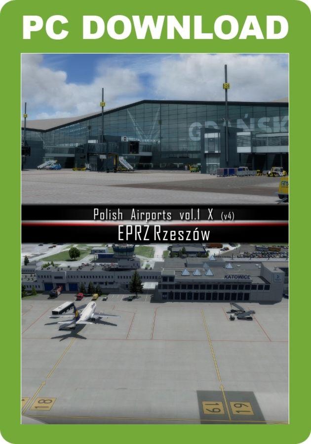 Just Flight - Polish Airports Vol  1 X (for FSX & P3D)
