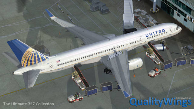 QualityWings - The Ultimate 757 Collection (for P3D v4)