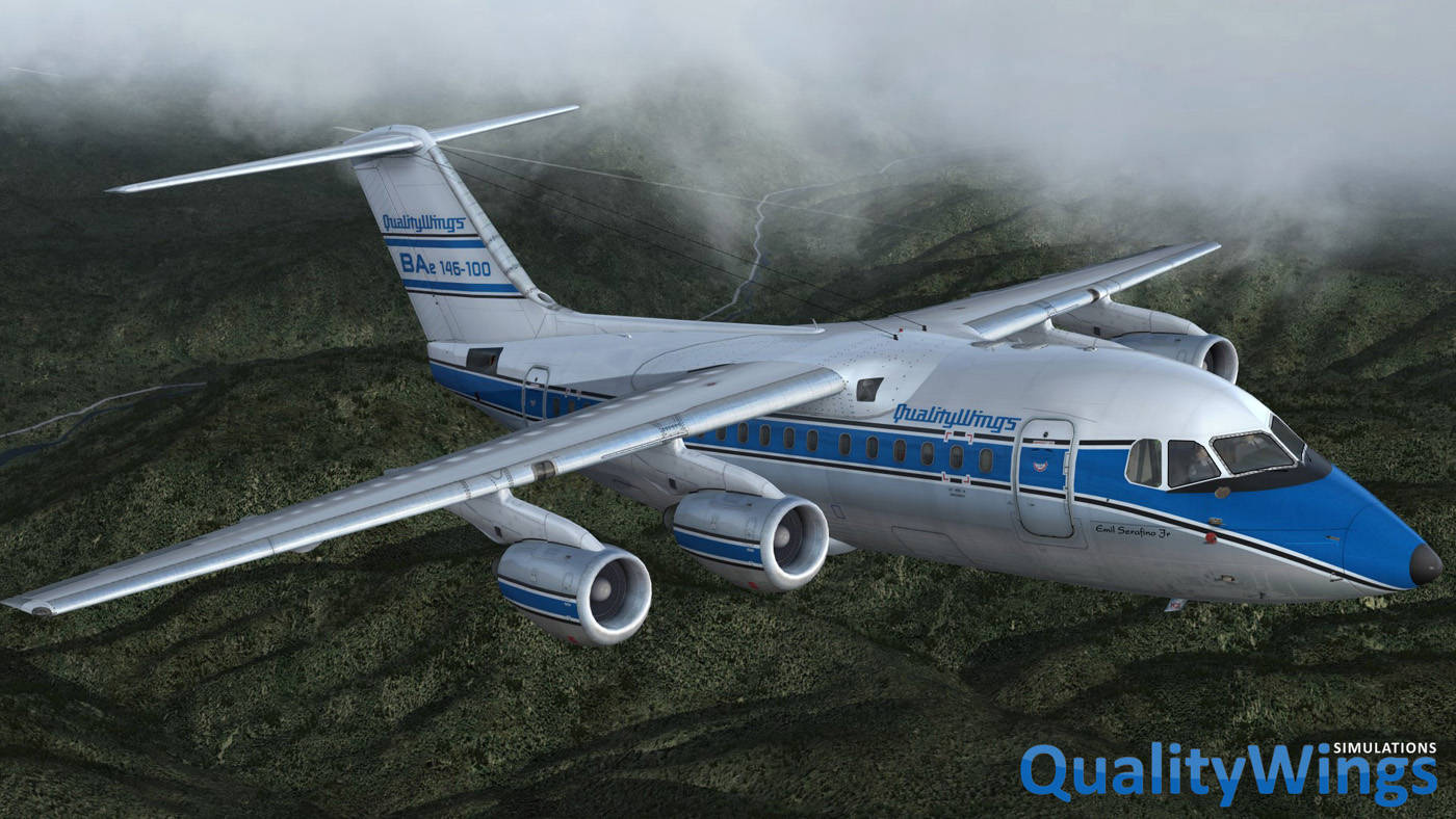Just Flight - QualityWings Ultimate 146 Collection (for P3D v4)