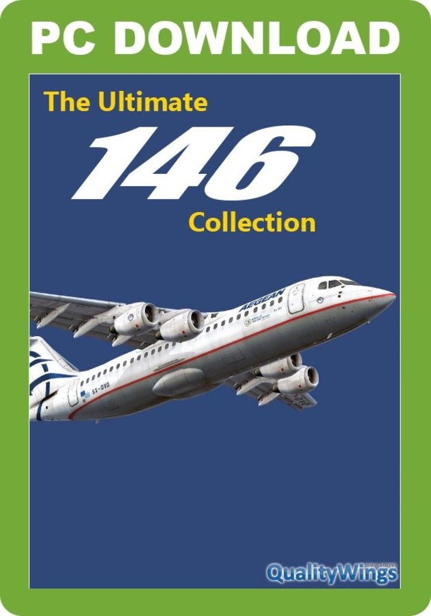 Just Flight - QualityWings Ultimate 146 Collection (for FSX & P3D v1/v2)