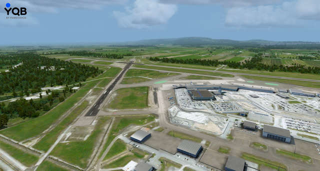 Aeroporto Quebec City : Just flight quebec city airport cyqb