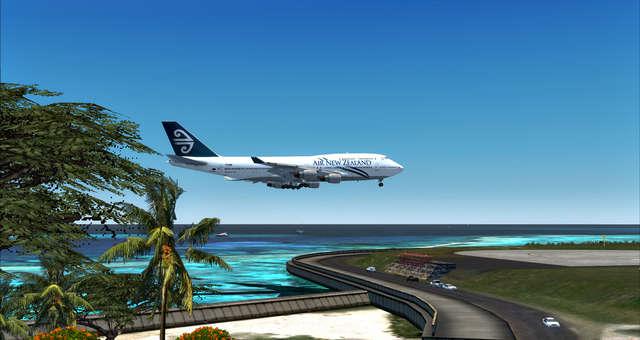 just flight rarotonga international