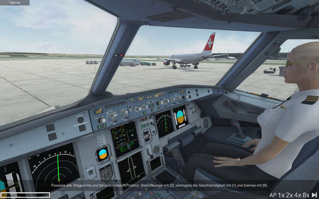 Ready For Take-off - A320 Simulator