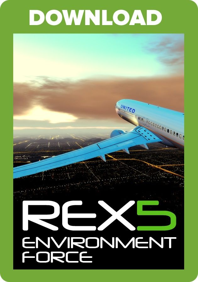 Just Flight - REX 5 - Environment Force (for P3D v4 4/v4 5)