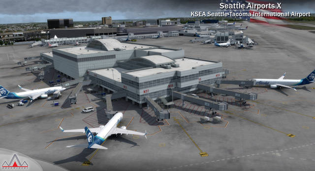 Just Flight - Seattle Airports X