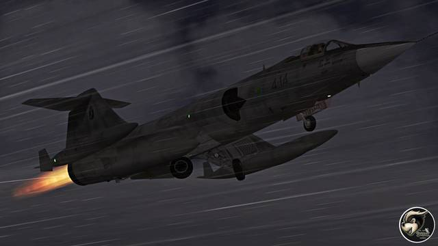 Sim Skunk Works Aeritalia-Lockheed F-104S (for P3D v4)