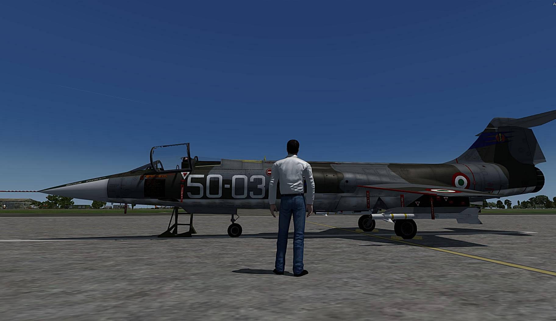 Sim Skunk Works AERITALIA LOCKHEED F-104S