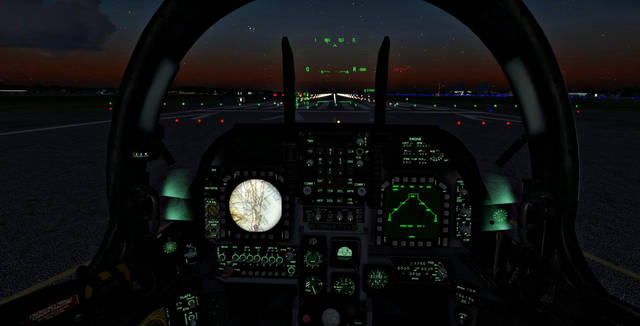 Sim Skunk Works AV-8 B Harrier II (for P3D v3)