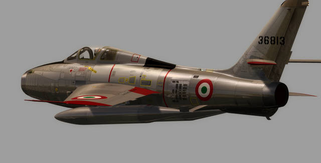 Sim Skunk Works F-84F 'Thunderstreak' (for FSX)