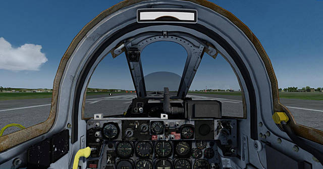 Sim Skunk Works F-84F 'Thunderstreak' (for P3D v3)
