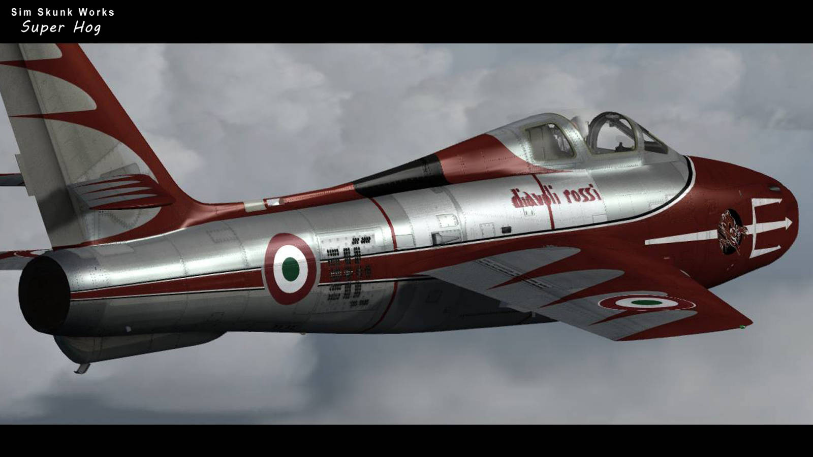 Just Flight - Sim Skunk Works F-84F 'Thunderstreak' (for P3D v4)