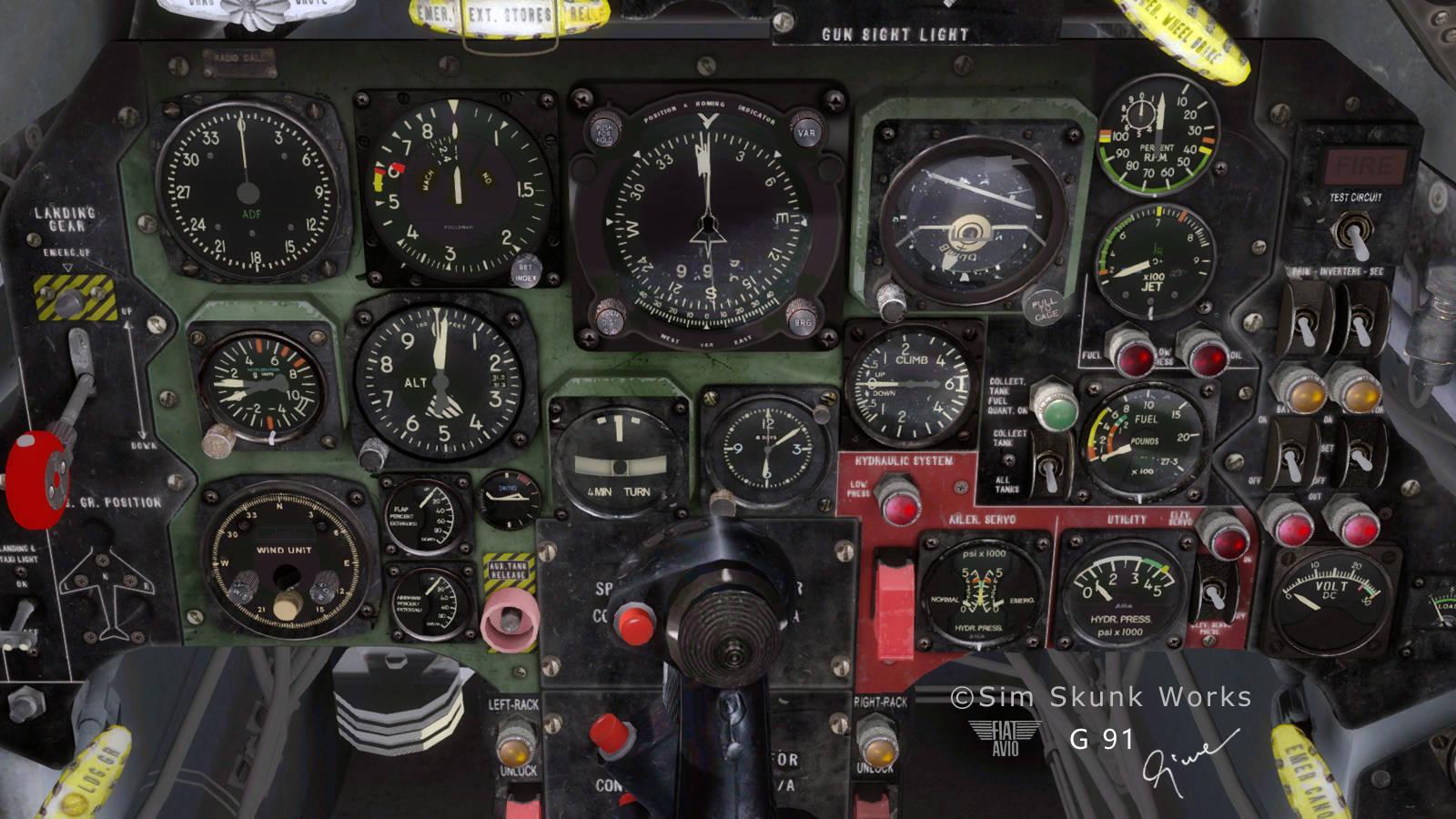 Just Flight - Sim Skunk Works Fiat G.91 (for FSX)