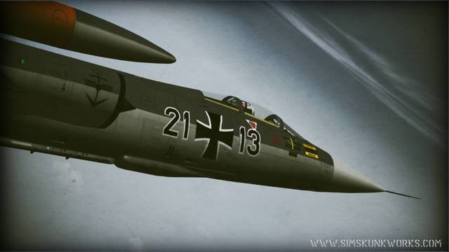 Sim Skunk Works Lockheed FRF-104G (for FSX)