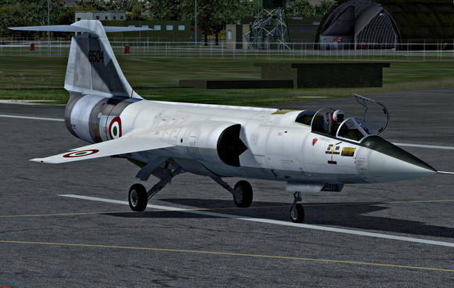 Sim Skunk Works Lockheed FRF-104G (for P3D v4)