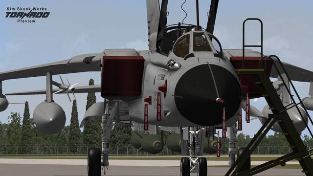 Sim Skunk Works PA200 'Tornado' (for P3D v4)