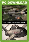 SimSkunkWorks F-84F 'Thunderstreak' (for FSX)