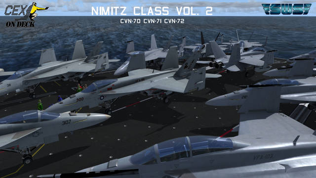 Simworks Studios Nimitz Class Vol. 2 (for P3D v4.5)