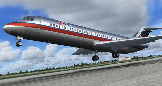 Sky Simulations DC-9 (for P3D)