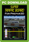 SuperTrafficBoard for P3D
