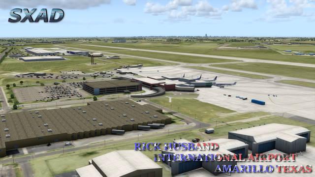 Just Flight - SXAD KAMA Amarillo Airport