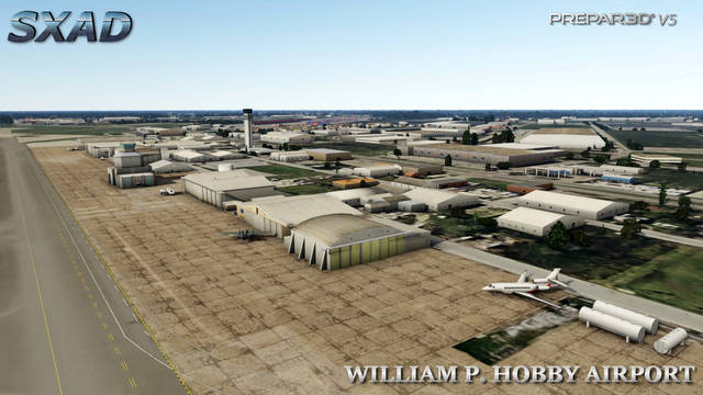 SXAD KHOU William P. Hobby Airport
