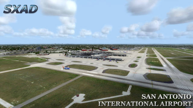Just Flight Sxad San Antonio International Airport