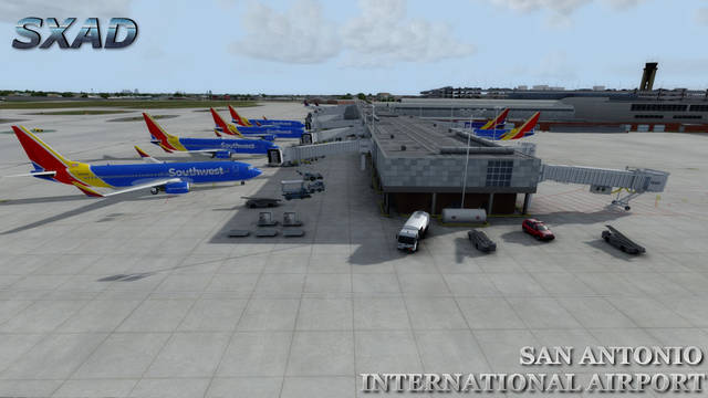 SXAD San Antonio International Airport