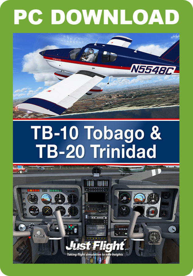 Just Flight - TB-10 Tobago & TB-20 Trinidad (for FSX & P3D)