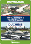 TB-10 Tobago & TB-20 Trinidad & Duchess Model 76 Bundle (for X-Plane 11)