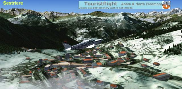 Tourist Flight Aosta & Piemont North