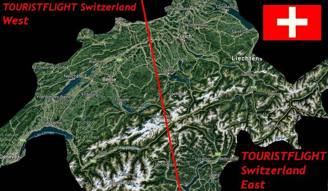 Tourist Flight Swiss