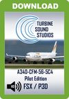 TSS A340 CFM56-5C4 Pilot Edition Sound Package