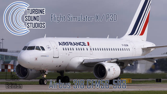 TSS Airbus 318 CFM56-5B8 Pilot Edition Sound Package