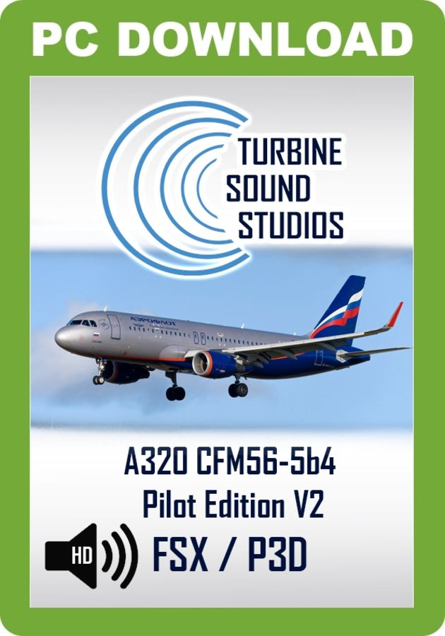 TSS Airbus 320 CFM56-5B4 Pilot Edition v2 Sound Package - Just Flight