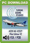 TSS Airbus 320 IAE-V2527 Pilot Edition v2 Sound Package