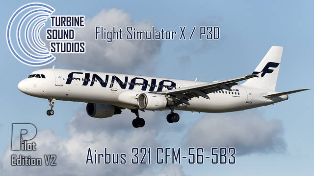 TSS Airbus 321 CFM-56-5B3 Pilot Edition v2 Sound Package