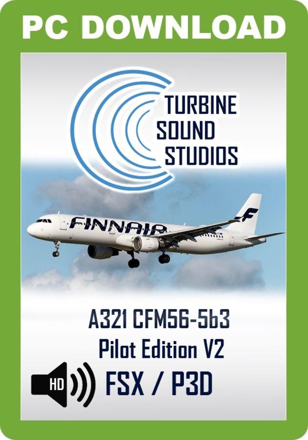 TSS Airbus 321 CFM-56-5B3 Pilot Edition v2     - Just Flight