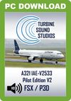 TSS Airbus 321 IAE-V2533 Pilot Edition v2 Sound Package