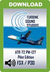 TSS ATR-72 PW-127 Pilot Edition Sound Package