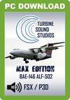 TSS BAe 146 ALF-502 MAX Edition Sound Package