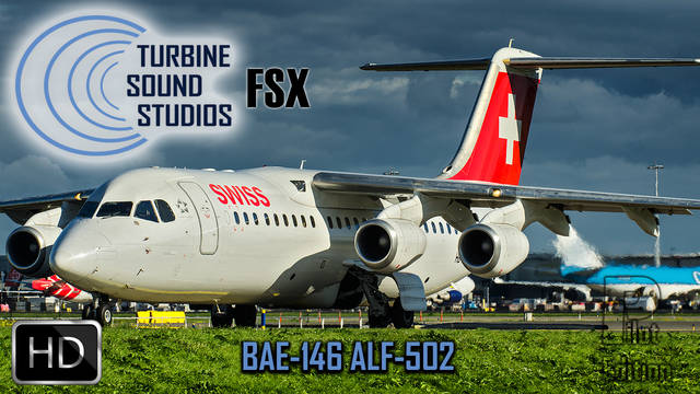 TSS BAE 146 ALF-502 Pilot Edition Sound Package