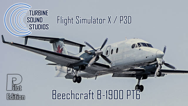 TSS Beechcraft B1900D PT6 Pilot Edition Sound Package