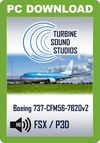 TSS Boeing 737-600/700 CFM56-7B20 Pilot Edition v2 Sound Package