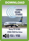 TSS Boeing 737 CFM56-7B26 Pilot Edition Sound Package
