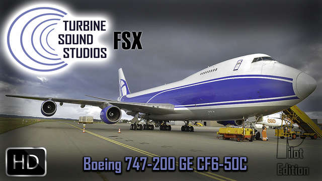 TSS Boeing 747-200 GE-CF6-50C Pilot Edition Sound Package