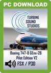 TSS Boeing 747-8 GEnx PEX Pilot Edition v2 Sound Package