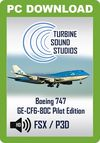 TSS Boeing 747 GE-CF6-80C Pilot Edition Sound Package