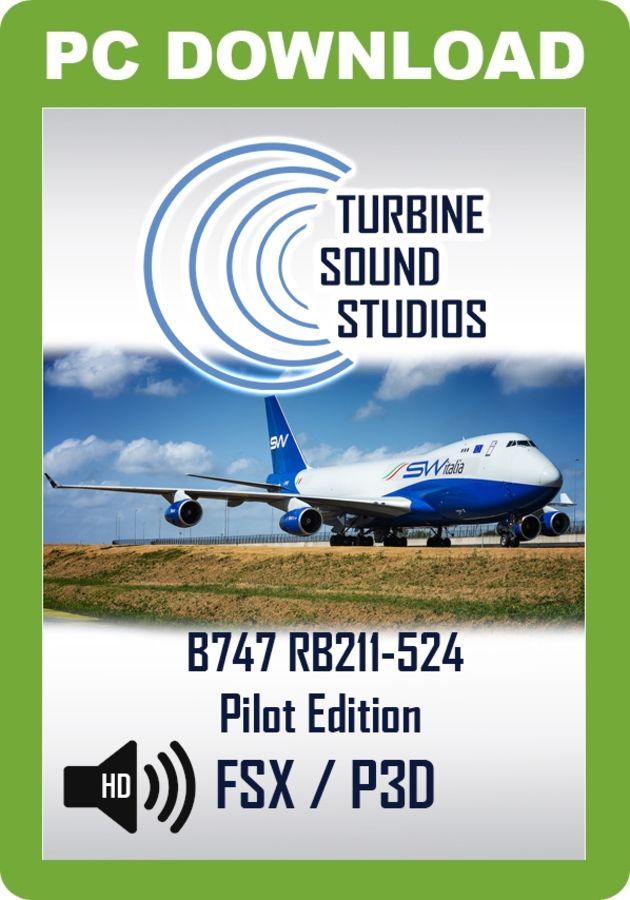 turbine sound studios 747
